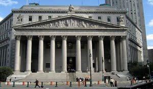 El edificio de la Corte que tiene que resolver los planteos de los Fondos Buitres contra Argentina. Foto: Télam