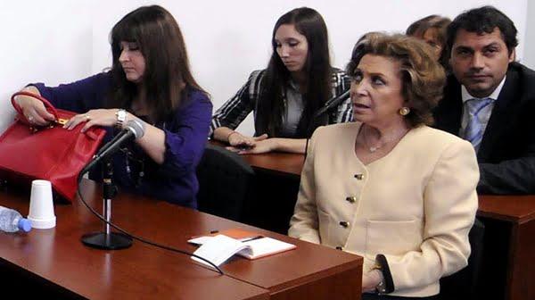 Por el paso del tiempo sin acción de la Justicia la causa contra María Julia Alzogaray prescribió sin que se supiera si tuvo la culpa. Foto: La Nación