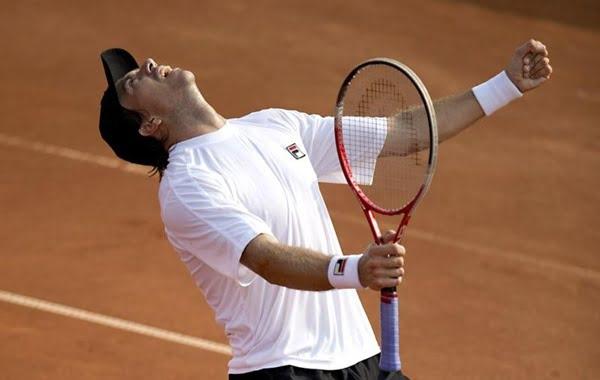 Carlos Berlocq ganó el primer ATP de su carrera. Foto : AFP
