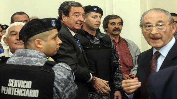 Otilio Romano en la sala de audiencias donde se realiza el juicio a jueces. Foto: Marcelo Ruiz (Infojusnoticias).