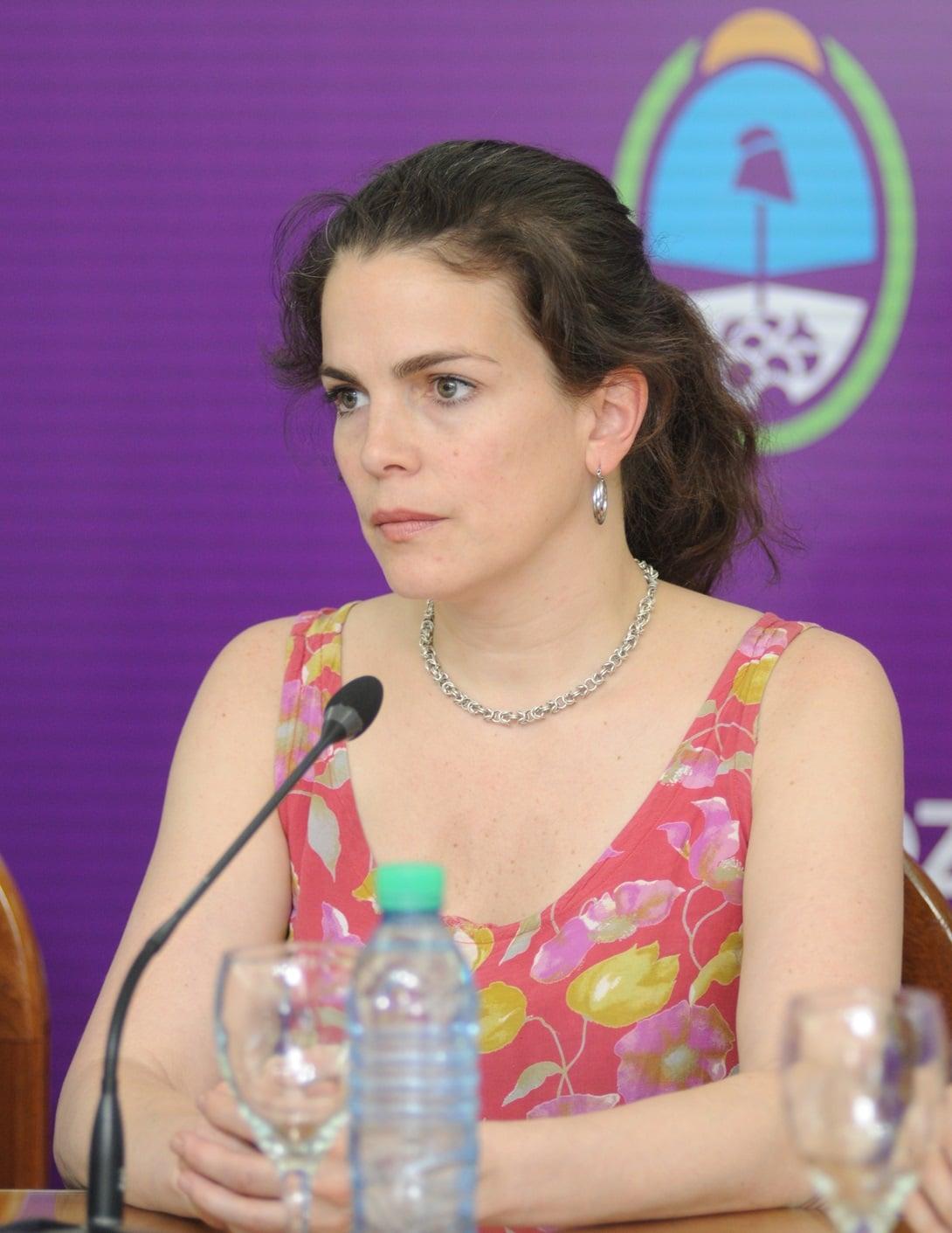 Josefina Canale, militante demócrata, fue designada al frente del estratégico Instituto de Juegos y Casinos. Foto: Prensa Gobierno de Mendoza