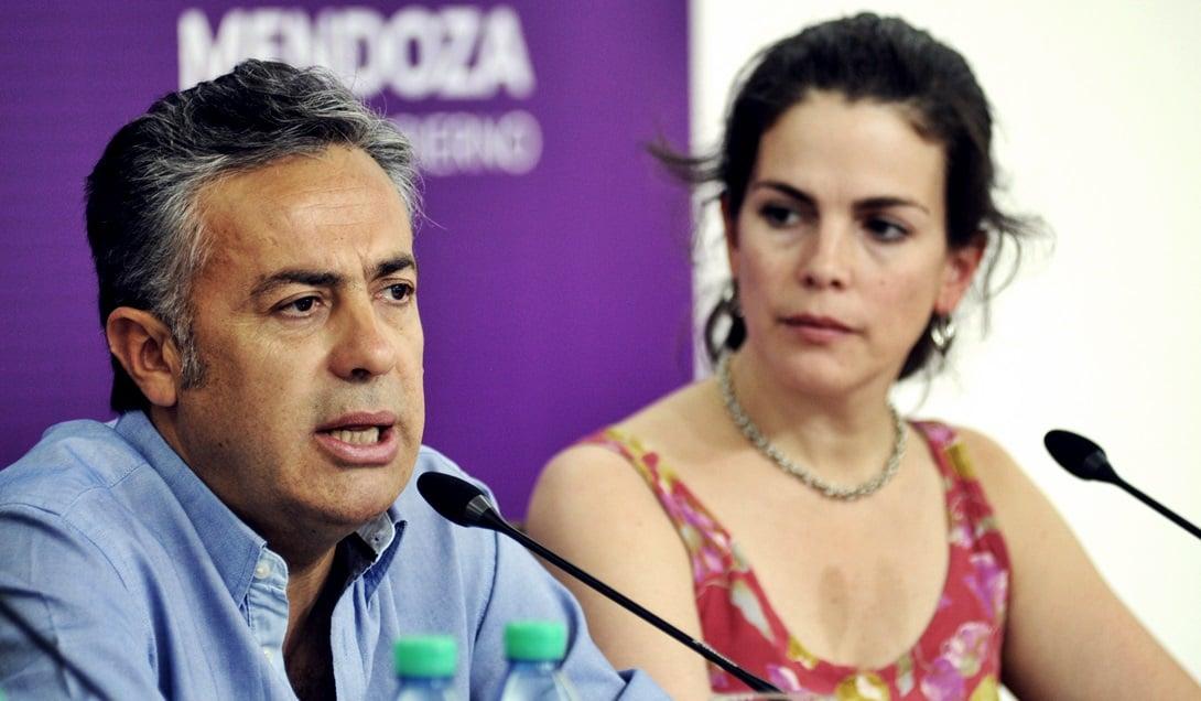 Josefina Canale, militante demócrata, fue designada por Alfredo Cornejo al frente del estratégico Instituto de Juegos y Casinos. Foto: Prensa Gobierno de Mendoza